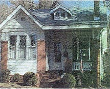 Arts and Crafts Bungalow, 1890-1940.