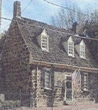 Colonial home, before 1776.