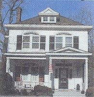 American Foursquare house, 1895-1930.