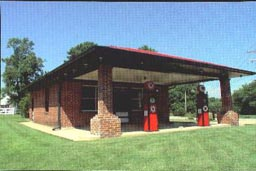 Courtney Road Service Station in Brookland District, Henrico County, Virginia.