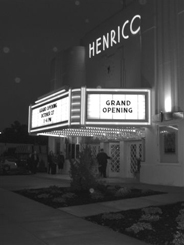 The renovated and restored Henrico Theatre.