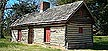 Log Cabin in Tuckahoe District, Henrico County, Virginia.