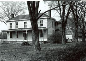 Vintage photo of Erin Shades, a Henrico County, Virginia structure that no longer exists.