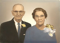 Dabney and Inez Henley, who owned the Short Pump General Store, a Henrico County Virginia structure that no longer exists.