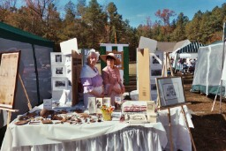Artifacts on display, Glen Allen Day, 2003,