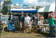 First Vice President Linda Dickerson and previous HPAC Award of Merit recipient Trevor Dickerson represented Henrico at Field Days of the Past in Goochland County.