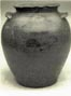 Stoneware jar attributed to Schermerhorn, Wilson, or associates.