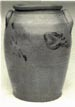 Stoneware jar attributed to Sweeney.