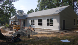 Renovation of Coal Pit Learning Center.