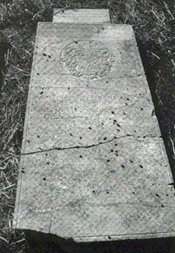 William Randolph's grave.