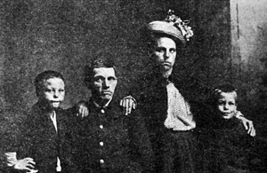 John and Mary York, and Mary's two sons.