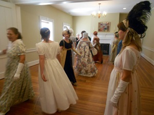 The Colonial Dance Club of Richmond dancing at the Afternoon Tea and Dance.