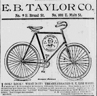 Bicycle ad.