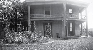 Walnut Lodge's Octagon House.