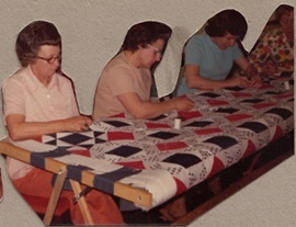 Varina Woman's Club create award-winning quilt.