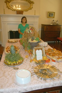Lurline Wagner made the culinary creations.