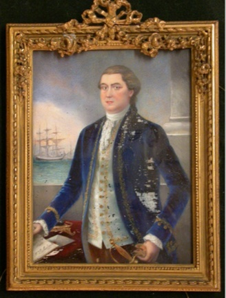 Miniature of Nicholas Brown Seabrook.