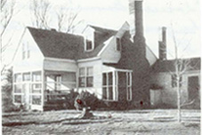 Nuckols House, circa 1930s or 1940s, in Three Chopt District, Henrico County, Virginia.