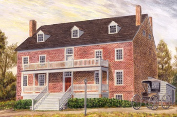 Walkerton Tavern Print.