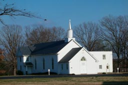 Deep Run Baptist Church in Three Chopt District, Henrico County, Virginia.