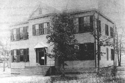 Ridge School circa 1907, in Three Chopt District, Henrico County, Virginia.