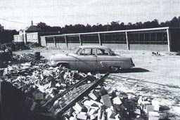Ridge School, circa 1961, in Three Chopt District, Henrico County, Virginia.
