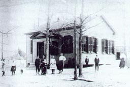 Ridge School, before 1907, in Three Chopt District, Henrico County, Virginia.