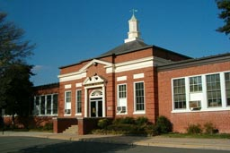 Ridge School, today, in Three Chopt District, Henrico County, Virginia.