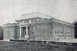 Short Pump School, circa 1930, in Three Chopt District, Henrico County, Virginia.